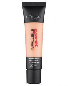 LOREAL PARIS Infaillible 24H Fond de Ten Matifiant