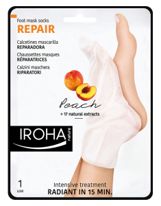Foot Mask Socks Repairing -Peach 8436036430436