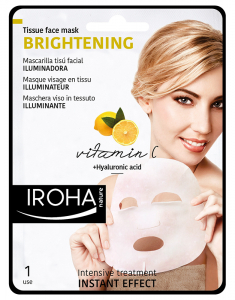 Tissue Face Mask Brightening Vitamin C and Hyaluronic Acid 8436036430634