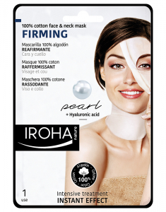 Cotton Face and Neck Mask Pearl-Firming 8436036431525