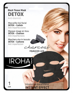 Black Tissue Facial Mask Detox - Charcoal 8436036431822