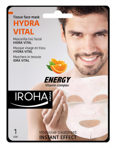 Tissue Face Mask Men Hydra Vital-Vitamin complex 8436036431518