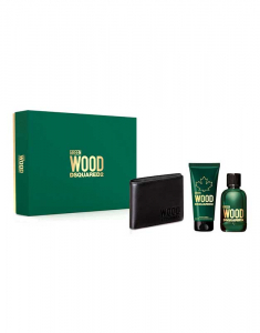Set Dsquared2 Green Wood Homme Eau De Toilette 8011003860678